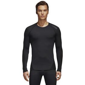 adidas Alphaskin Sport LS Tee Herre black